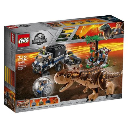 LEGO Jurassic World - A Fuga da Girosfera do Carnotauro