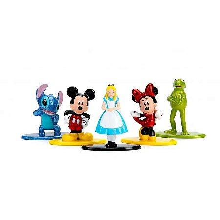Figuras Colecionáveis 5 Cm - Disney - Personagens - DTC