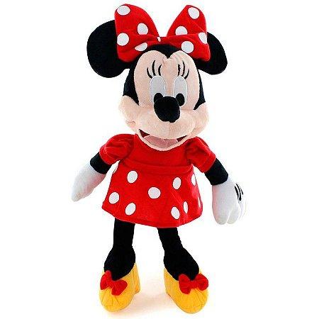Pelúcia Minnie com som - Disney - Multikids