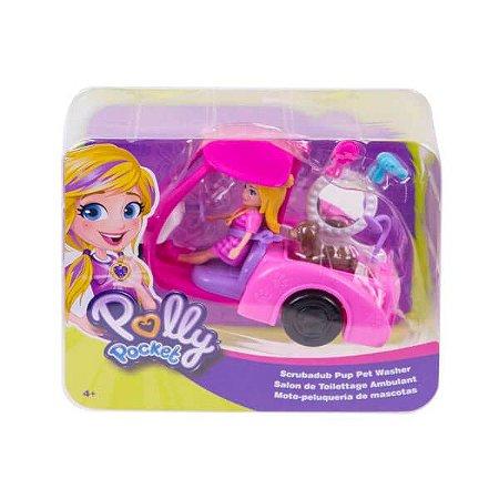 Polly Veiculo Banho De Cachoeira - Mattel