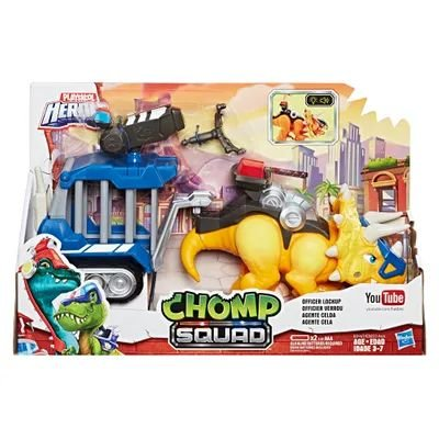 E0833 Playskool Heroes - Chomp Squad - Amarelo - Hasbro