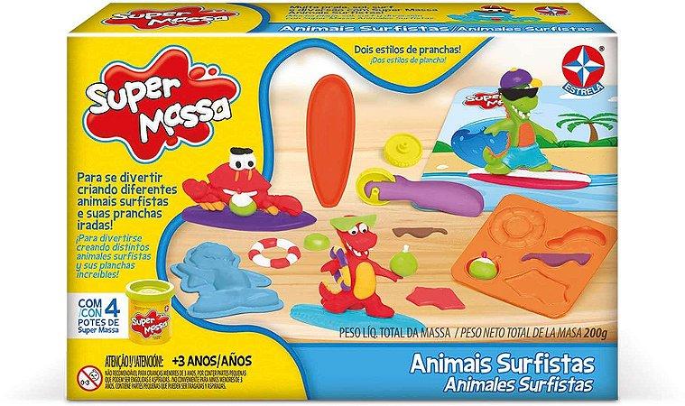 Massinha Super Massa - Animais Surfistas - Estrela