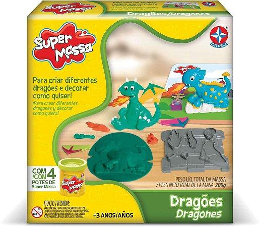 Jogo Massinha - Super Massa - Dragões - Estrela