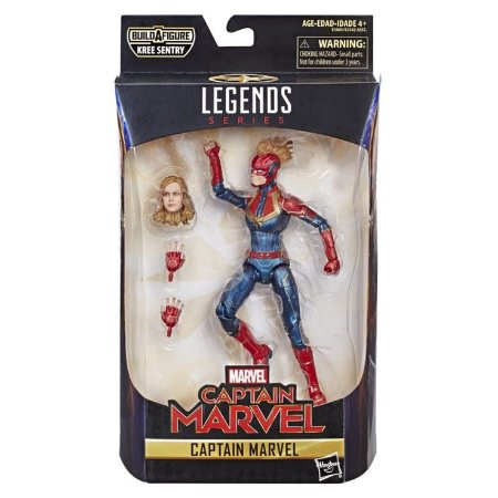 Marvel Legends - Capitã Marvel - Hasbro