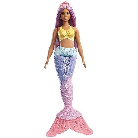 Barbie Sereia Roxa - Dreamtopia - Mattel