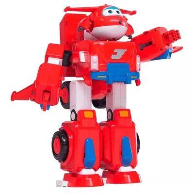 Transformação Robô em Veículo - Jett Super Wings - Fun