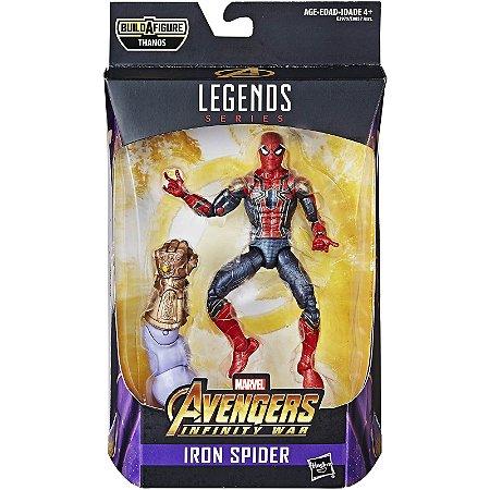 Marvel Legends - Homem Aranha - Vingadores Guerra Infinita