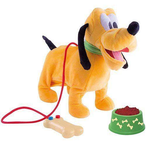 Pelúcia Interativa Walking Pluto - Disney - Multikids