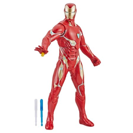 E4929 Marvel Avengers Endgame - Vingadores Ultimato Homem de Ferro - Raio Repulsor