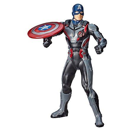E3358 Marvel Avengers Endgame - Vingadores Ultimato Capitão América - Explosão de Escudo