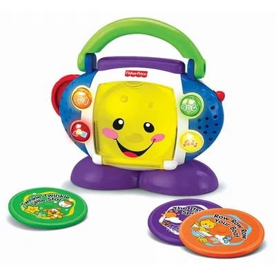 CD Player Aprender e Brincar - Fisher-Price