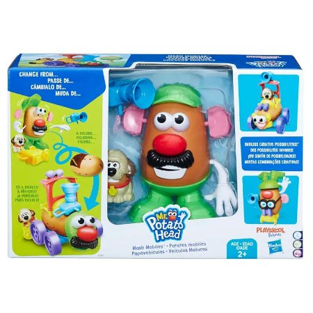 Figura - Mr. Potato Head - Veículos Malucos - Hasbro