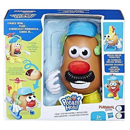 Figura 20 Cm - Mr. Potato Head - Nas Alturas - Mr. Potato Helicóptero - Hasbro