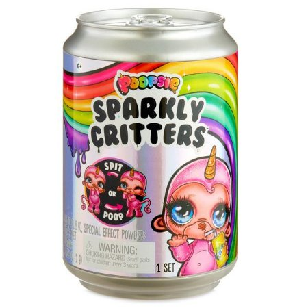 Mini Boneca Surpresa - Poopsie - Sparkly Critters - Slime - Candide