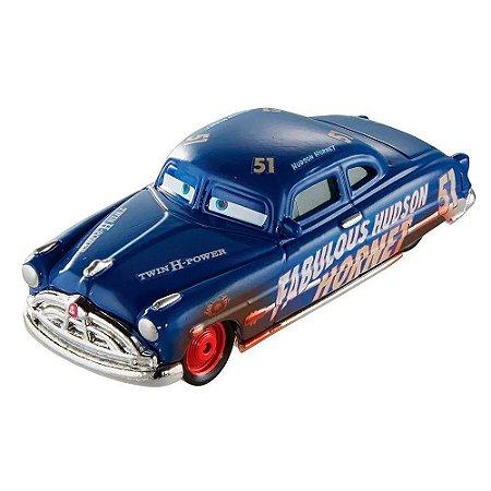 Die Cast Hudson Hornet - Carros 3 - Mattel