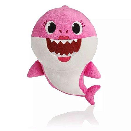 39269 Pelúcia Baby Shark Rosa - Toyng
