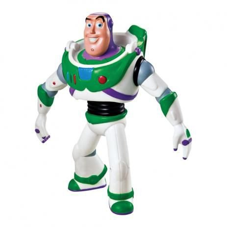 Boneco de Vinil - 18 Cm - Disney - Pixar - Toy Story - Buzz - Líder