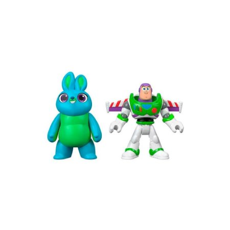 Toy Story 4 Imaginext Buzz Lightyear e Bunny - Mattel