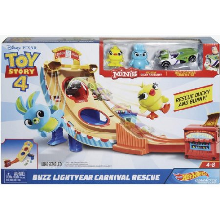 Gcp24 Hot Wheels - Disney - Pixar - Toy Story 4 - Buzz Lightyear - Mattel