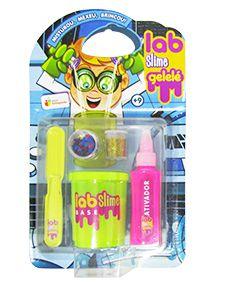 Lab Slime Gelelé - Kit Para Fazer Slime com Ativador