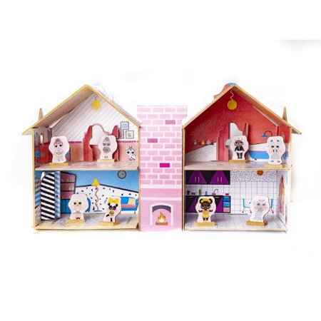 Casa De Boneca Divertida Da Doll - Brincadeira De Criança