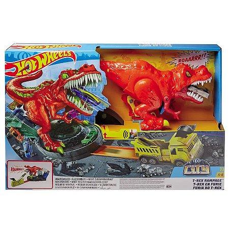 Hot Wheels City - T-Rex Demolidor - Mattel