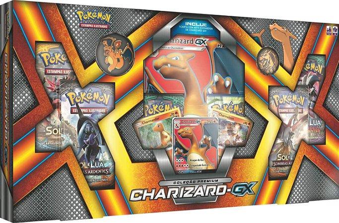 Box Pokémon Charizard Gx - Copag