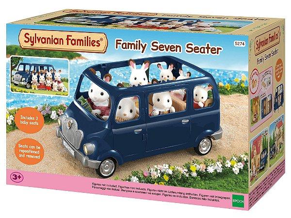 Mini Van Azul Sylvanian Families - Epoch