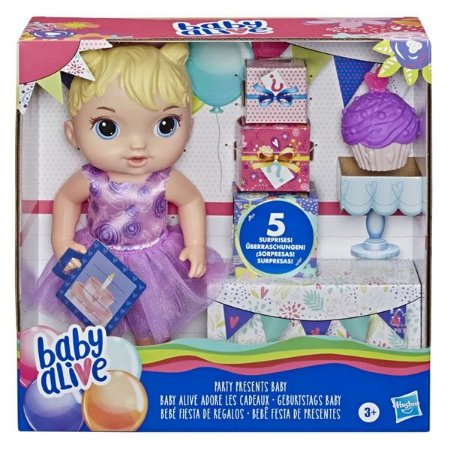 E8719 Boneca Baby Alive Festa de Presentes - Hasbro