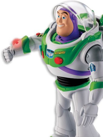 Buzz Lightyear Movimentos Reais - Mattel