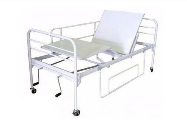Cama Hospitalar Fawler 2 Movimentos Manual