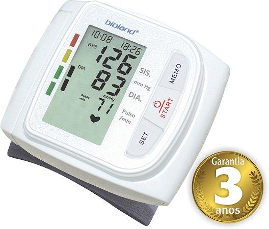 Monitor de Pressão Digital Automático de Pulso - Bioland