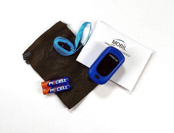 Oxímetro de Dedo Adulto Azul - PROMOÇÃO DE BLACK FRIDAY