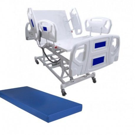 Cama Hospitalar Motorizada 8 Movimentos Com Elevação do Leito Luxo