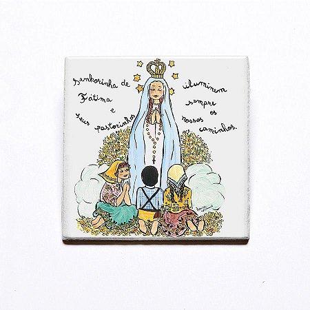 Azulejo Nossa Senhora de Fátima - Linha Santeiro
