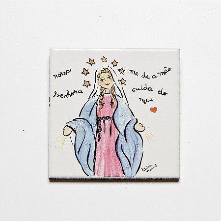 Azulejo Nossa Senhora das Graças - Linha Santeiro