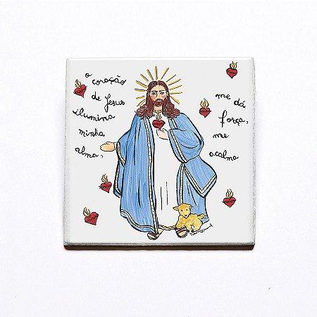Azulejo Jesus de Nazaré - Linha Santeiro