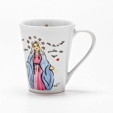 Caneca Nossa Senhora das Graças - Linha Santeiro