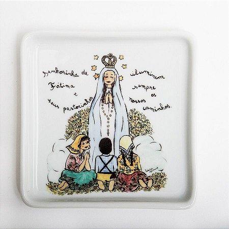 Prato Quadrado Nossa Senhora de Fátima - Linha Santeiro