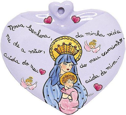 Vaso de Parede Coração Perpétuo Socorro- Santeiro