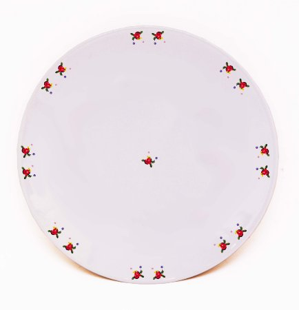 Prato de Jantar Flores - Linha Exclusiva