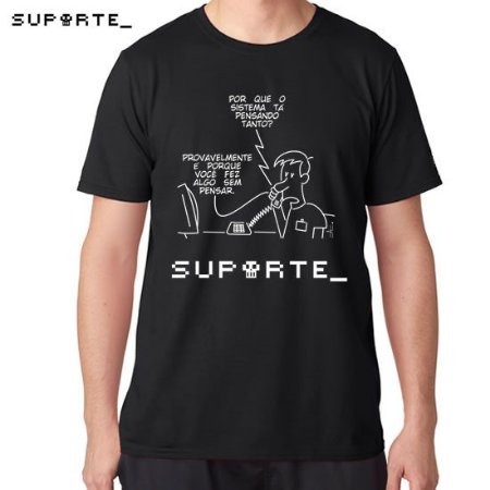 Camiseta Vida de Suporte - Camiseta Pensar