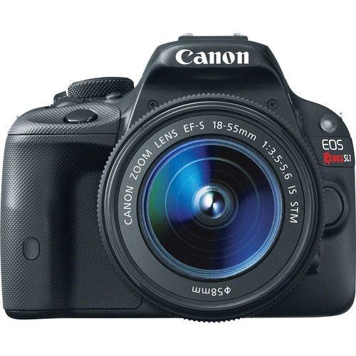 Câmera Canon EOS Rebel SL1 com Lente 18-55mm STM
