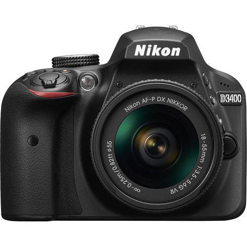 Câmera Nikon DX D3500 com Lente AF-S DX 18-55mm f/3.5-5.6G VR