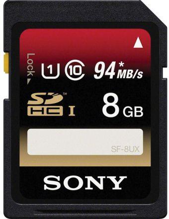 Cartão de Memória Sony SD 94MB/s 8GB
