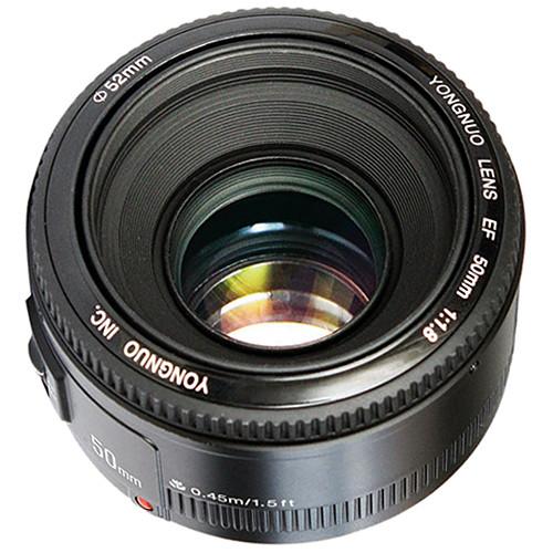 Lente Yongnuo YN-50mm f/1.8 para Nikon