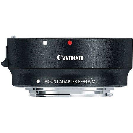 Adaptador de Lentes Canon EF e EF-S para Câmeras Canon M-Mount