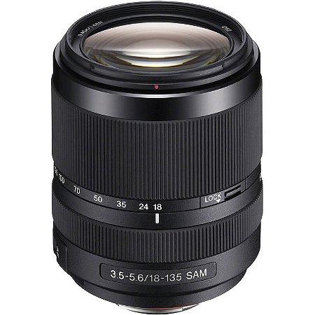 Lente Sony SAL DT 18-135mm f/3.5-5.6 SAM
