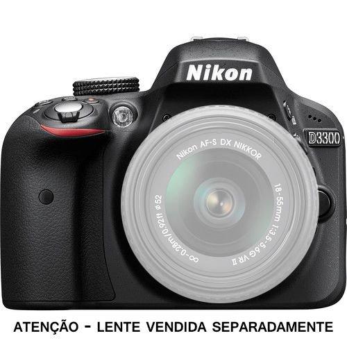 Câmera Nikon DX D3300 Corpo