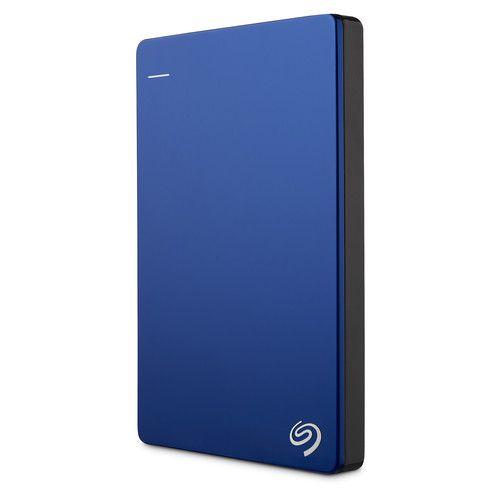 HD Externo Seagate Backup Plus Slim 2TB compatível com MAC Azul